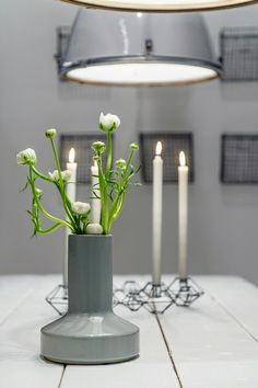 "Kandelaar ""Pernille"" zwart 