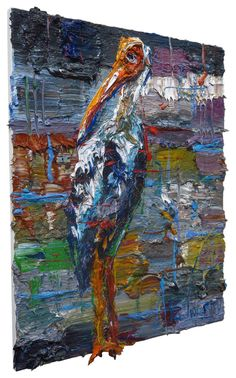 UNTITLED m957 , Oil paint on stretched canvas of 20 by 16 by 3/4 in.(50.8 cm by 40.6 cm by 1.9 cm) Catalogue Reference: m957 2016