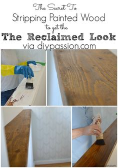 How to strip painted