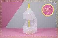 Recicla un bidon para guardar tu escobilla de baño - IMujer