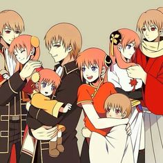 Okita Sougo х Kagura Nalu, Gintama, Shingeki No Bahamut, Okikagu, Cartoon Games, Cute Anime Couples, Anime Shows, Shoujo, Drawing Reference