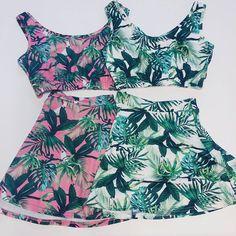 Tropical Look. Coming Soon #fyvfyv #topnbottom #set #pinkngreen