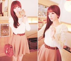 얼짱 (ulzzang) fashion.