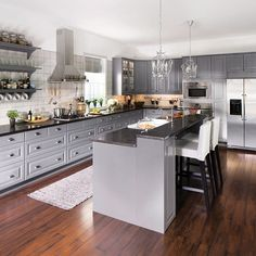 What meal would you love to #cook in an #IKEA #kitchen like this?