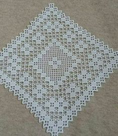 Romantic white filet crochet table doily or runner, rustic or cottage chic style, afternoontea wedding decor, garden tea party Filet Crochet, Crochet Wool, Crochet Cushions, Crochet Borders, Crochet Tablecloth, Crochet Squares, Thread Crochet, Cute Crochet, Irish Crochet