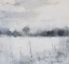 Hannah Woodman, 'Winter Fields & Stone Wall, Nr St Just' 2014 Pencil, Oil & Gesso on paper