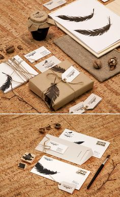 44 Corporate Identities plus How To Create Your Own Using Photoshop #diseño #packaging