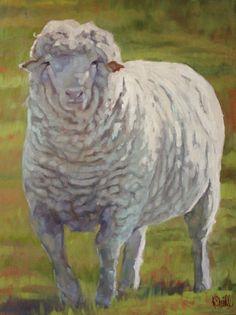 Baa baa white sheep by KateInTheStudio