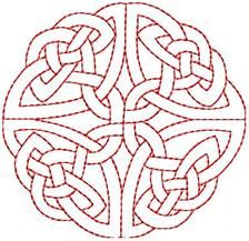 Celtic Outlines - Free Instant Machine Embroidery Designs