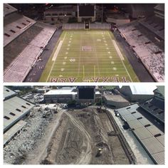 Kyle Field Renovation is underway (11/13/13).