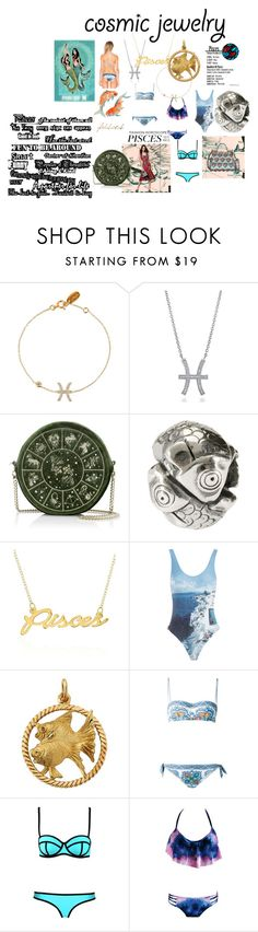 """Pisces"" by atenaide86 ❤ liked on Polyvore featuring BERRICLE, Trollbeads, Belk & Co., Orlebar Brown, Dolce&Gabbana and RVCA"