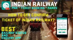 Best app to check PNR Status and IRCTC Express Ticket Booking - Indian Railway Enquiry Android App.  Book Tatkal Train tickets easily from your phone now in easy steps using IRCTC details. Steps - Select Train - Add/Select Passenger - Enter Captcha in IRCTC page - Choose Payment method - Book Directly - Get Confirm Ticket  Install From Google Play - https://play.google.com/store/apps/details?id=com.vishal.indianrailway