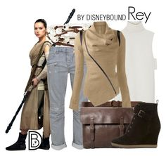 """Rey"" by leslieakay ❤ liked on Polyvore featuring ADAM, Chan Luu, Balmain, Abercrombie & Fitch, MANGO, Mint Velvet, disney, disneybound, starwars and disneycharacter"