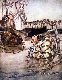 The Two Pots, One of Aesop's Fables