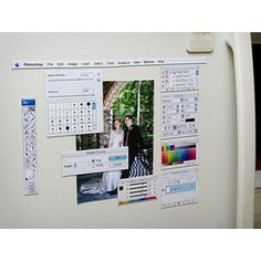 anyone who uses photoshop should find these magnets humorous
