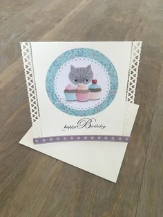 Birthday card with Cat £3.80