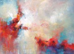 """Unfolding Emotion"" 30x40    $2400 www.karenhale.com"