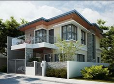 New House Designs filipino architect contractor 2-storey house design philippines