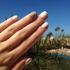 My beautiful nails during my holiday. It was so cool