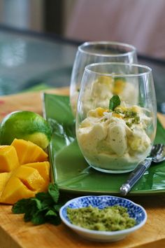 My Melbourne Thermomix: Mango and Lime Syllabub
