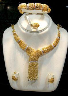 Gold Jewellery from Saudi Arabia
