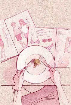 Weight Watchers by Bartosz Kosowski, via Behance