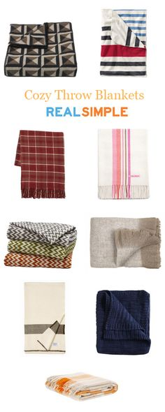 9 favorite throw blankets for cozying up on the couch