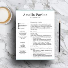 professional resume template for word pages includes 1 2 3 page resume - Template Resume Word