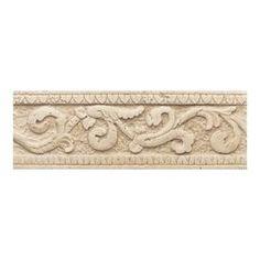 American Olean Designer Elegance Florence Ceramic Listello Tile (Commo