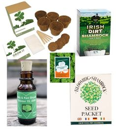 irish wedding favor ideas