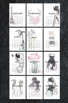 Free Printable Mini Calendar 2015