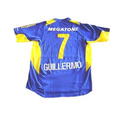c2e5376e0c  NIKE BOCA JUNIORS 2006 HOME PLAYERS VERSION GUILLERMO JERSEY --- Boca  Juniors 2006 home sphere dry player version shirt in royal