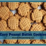 If you're new here, you may want to subscribe to my FREE Daily Updates Newsletter. Thanks for visiting!This is the best recipe for easy peanut butter cookies that I have ever found.  Some easy peanut butter cookies taste funny, these do not!  I have had this recipe for so long that my handwriting is starting […]