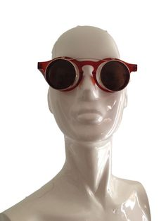Brown Flip Up Sunglasses by DIYstylist on Etsy, $14.99
