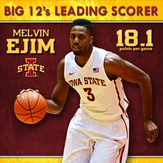 Congrats to Melvin Ejim on leading the Big 12 Conference in scoring.