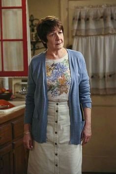 """Abuela Alba dressed for dinner with Rafael. """"Chapter Eleven"""""""