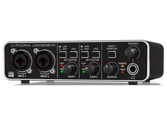 Behringer U-Phoria hangkártya Monitor, Music Instruments, Musical Instruments