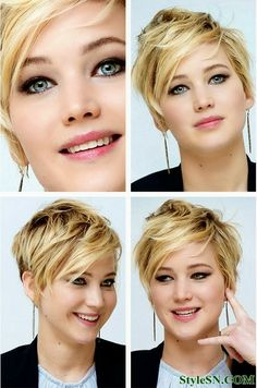 Short Hairstyles For Blonde Fine Hair 2014   StyleSN