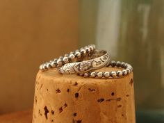 Sweet & SimpleOxidized Sterling Silver Stack by luckstruck on Etsy