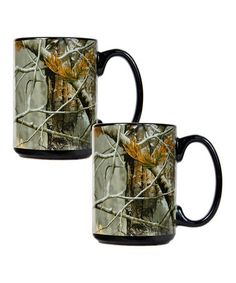 RealTree Open Field Camouflage - Camo & Black Ceramic Coffee Mugs - Diesel, Nfl Houston Texans, Hunting Camo, Realtree Camo, Camo Fashion, Country Girls, Country Life, Country Style, Open Field