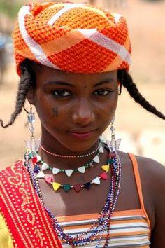 Africa | Fulani girl in Togo |