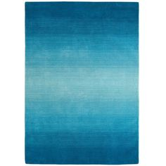 Peacock Ombre Rug - from Pier 1 imports. Shop more products from Pier 1 imports on Wanelo. Living Room Carpet, My Living Room, Diy Carpet, Blue Carpet, Hall Carpet, Carpet Ideas, Striped Rug, Beach House Decor, Home Decor