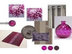 plum grey. Living room. Modern