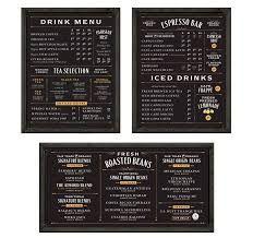 Resultado de imagen de coffee menu