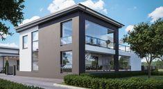 Tervetuloa Porin Asuntomessuille! - Lammi Kivitalo Habitats, Homes, Windows, Mansions, Architecture, House Styles, Home Decor, Arquitetura, Houses