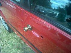 Redneck car repair