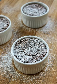 Quick and Easy Molten Chocolate Cake
