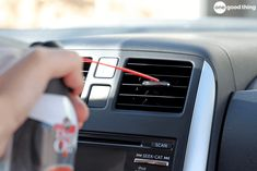 Cleaning your car is quick and easy when you know these 20 clever car cleaning hacks! DIY Car Upholstery Cleaner Use a homemade car upholstery cleaning solution to help you tackle muddy mats. Car Cleaning Hacks, Car Hacks, Cleaning Solutions, Hacks Diy, Car Upholstery Cleaner, Cleaning Car Upholstery, Las Vegas, Trash Can For Car, Car Buying Tips