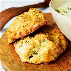 Stilton and walnut scones - My Dad & my In-laws went CRAZY over these!