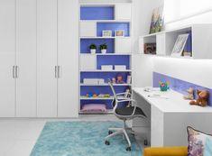 Moderná detská izba HANÁK na mieru Corner Desk, Furniture, Home Decor, Homemade Home Decor, Corner Table, Home Furnishings, Decoration Home, Arredamento, Interior Decorating